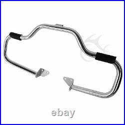 1 1/4 Engine Guard Highway Crash Bar For Harley Dyna Low Rider Fat Bob 2006-17