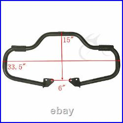 1.25 Engine Guard Highway Crash Bar Fit For Harley Dyna Low Rider Fat Bob 06-17