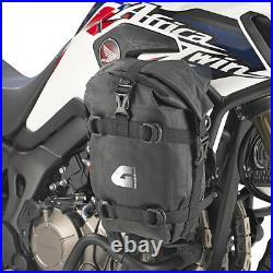 A Pair of Universal Givi T513 Engine Crash Bar Waterproof Saddle Bags 5L Each