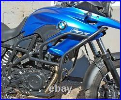 BMW F700GS Engine Guard Crash Bars Black Mmoto BMW0168