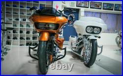 Bad Dad 975 Black Engine Crash Guard Bar Harley Touring Road Glide FLTR 09-2013