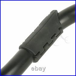 Black 1.25 Highway Engine Guard Crash Bar For Harley Dyna Super Wide Glide 06+
