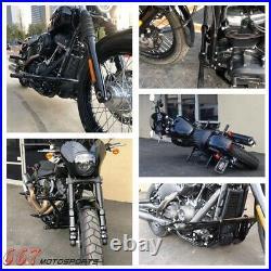 Black Engine Guard Highway Crash Bar For Harley Dyna Street Bob FXDB 2006-2017