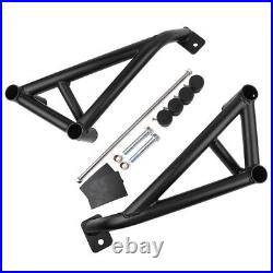 Black Engine Highway Crash Bars Guard Protector for Honda CBR1000RR 2008-2015
