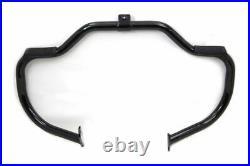 Black Highway Bars Engine Guard Crash Bar 86-99 Harley Heritage Softail Fatboy
