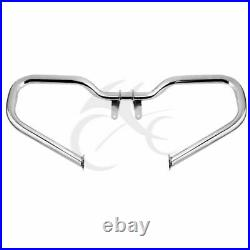 Chopped Engine Guard Highway Crash Bar For Harley Touring Road King FLHX 14-2020