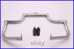 Chrome Bagger Engine Guard Highway Crash Bar Fit Softail Heritage Fatboy 2000-17