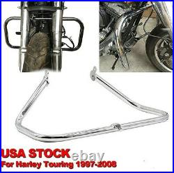 Chrome Engine Guard Crash Bar For Harley Touring 97-08 Road King FLHR/Street Gl