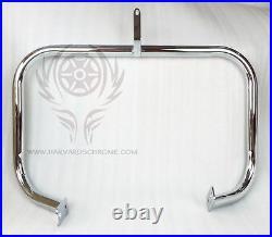 Chrome Highway Crash Bar Engine Guard For Honda Shadow VLX VT 600 VT600 Deluxe