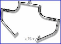 Chrome Lindby Linbar Highway Bar Peg Crash Engine Guard 2000-2017 Harley Softail