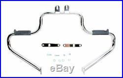 Chrome Lindby Multibar Engine Guard Highway Bars Crash Pegs Yamaha V-Star 1100
