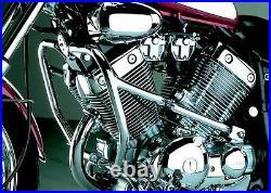Chrome engine bars, upper crash bars for Yamaha XV 535 Virago from 1988- 2003