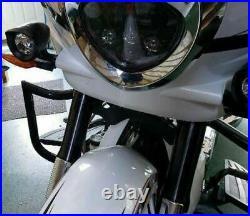 Custom Victory Cross Roads Country Highway Bars Engine Guard Crash Magnum Black