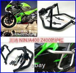 Engine Crash Guard Frame Protector Highway Bar For Kawasaki Ninja 400 Z400