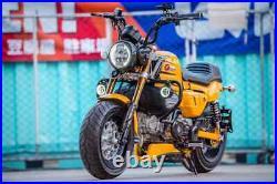 Engine Guard Crash Bar Body Frame Protector Black For Honda Monkey 125 2018-2021