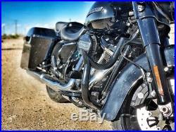 Engine Guard Highway Crash Bar 4 Harley Touring Road King Electra Fl 09-19 1.5
