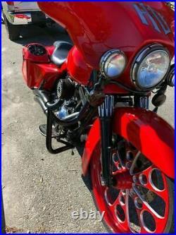 Engine Guard Highway Crash Bar 4 Harley Touring Road King Street Glide