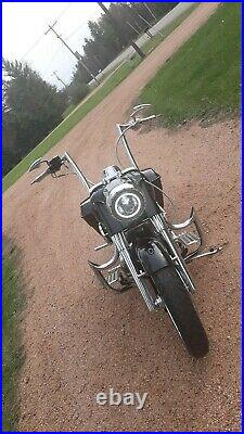 Engine Guard Highway Crash Bar 4 Harley Touring Road King Street Glide 1.5 Tube