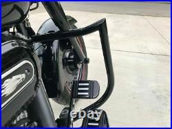 Engine Guard Highway Crash Bar 4 Softail Harley Fatboy Heritage Custom Bagger