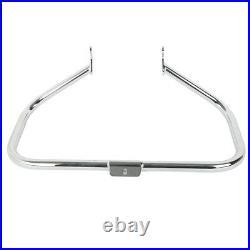 Engine Guard Highway Crash Bar Chrome For Harley Heritage Softail FatBoy 2000-17