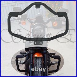 Engine Guard Highway Crash Bar For Harley Sportster Iron 883 883N XL1200 2004-18