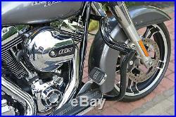 Engine Guard Highway Crash Bar Harley Road King Street Glide Cvo Touring 2009-20