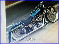 Engine Guard Highway Crash Bar Softail Harley Fatboy Heritage Softail 2000-2017