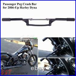 Engine Guard Highway Peg Crash Bar For Harley Dyna FXDB FXDL FXDF FXDC 2006-2021