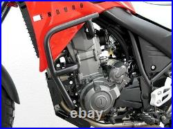 Engine bars, crash bars, for Yamaha XT 660 R in black
