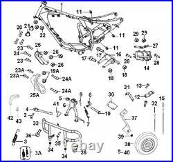 Engine guard crash bars for Keeway Superlight 125