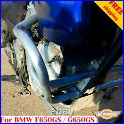 For BMW G650GS Crash bars BMW F650GS Dakar Engine guard G 650 GS Sertao F650 GS
