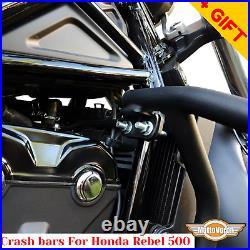 For Honda Rebel 500 engine guard Honda CMX 500 crash bars, Bonus