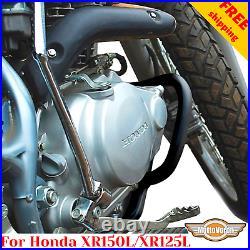 For Honda XR 125 Crash bars XR125L Engine guard XR150L Frame protector XR 150 L