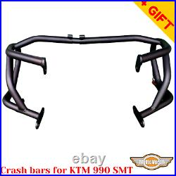 For KTM 990 SMT crash bars engine guard 990 Supermoto, Bonus
