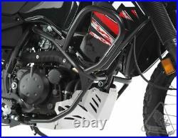 Front & Rear Highway Crash Bar Engine Guard Set For Kawasaki KLR650 1987-2018