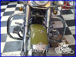 Harley Davidson Softail 1986-1999 FL Crash Bar HD Fatboy Highway Engine Guard