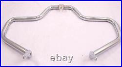 Highway Crash Bar Engine Guard 4 91-19 Harley Dyna Super Glide Wide Low Chrome
