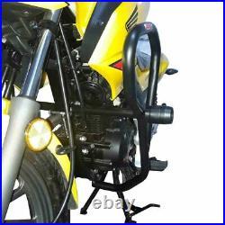 Honda CB125F crash bar engine guard and slider set 2018-2020