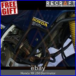 Honda NX250 Dominator AX-1 Crash Bars Engine Guard Frame Protector + GIFT