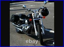 Honda Shadow VT750 C4 RC50 04+ C2 Spirit RC53 07+ Chrome Crash Bar Engine Guard