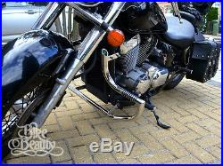 Honda Shadow VT750 C4 RC50 AERO & C2 RC53 SPIRIT Crash Bar Engine Guard with Pegs