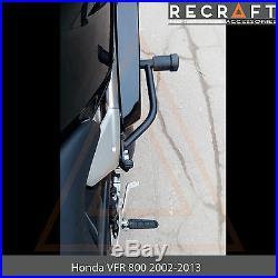 Honda VFR800 2002-2013 Crash Bars Engine Guard Frame Protector With Crash Pads