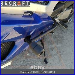 Honda VFR800 Interceptor 1998-2001 Crash Bars Engine Guard With Crash Pads