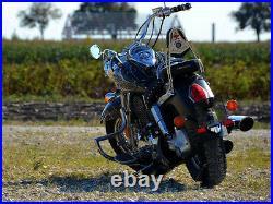 Honda VTX1300 Custom C & Retro R, S Crash Bar Engine Guard with BUILT IN PEGS