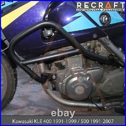 Kawasaki KLE400 1991-99 / 500 1991-2007 Crash Bars Engine Guard Frame Protector