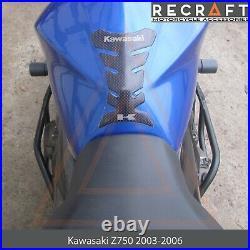 Kawasaki Z750 2003-2006 With Sliders Crash Bars Engine Guard Frame Protector