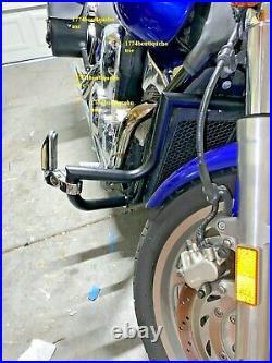 MATTE BLACK CUSTOM Engine Guard Crash Highway Bar 4 Honda VTX 1300 R S C Models