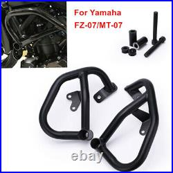 MT07 FZ07 Motorcycle Crash Bar Engine Guard Frame Protection Assembly For Yamaha