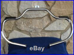 Mustache Bar Engine Guard Crash Bar Harley Softail Fatboy Heritage Deluxe Parts