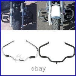Mustache Engine Crash Guard Bar For Harley Touring Street Glide FLHX 2009-2020